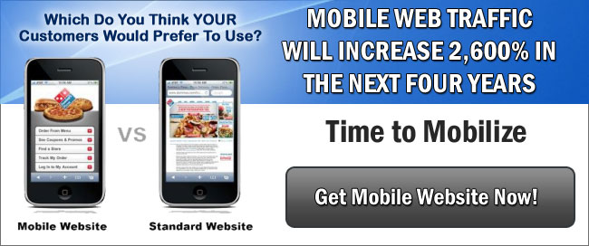 Get Mobile Website Now